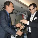 Remise du Trophée par Marc Blaser à la Société Varloteaux