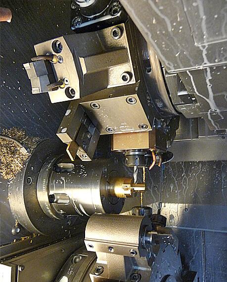 Vue de l'intérieur d'une machine chez APB SADDIER