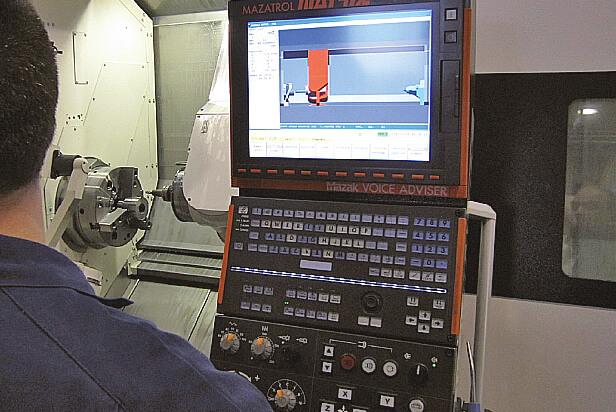 La simulation du Mazatrol est appréciée par les opérateurs