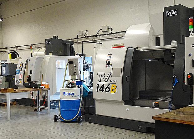 Un parc de 43 machines CNC aux capacités et process complémentaires.