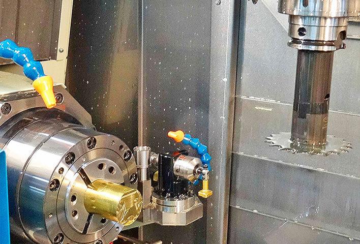 Atelier usinage métaux précieux et laiton