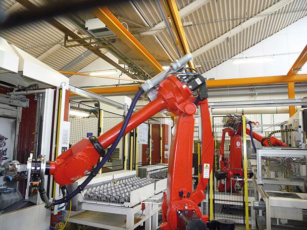 Utilisation Machine Industrielle
