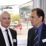 M. Blaser et le représentant d'Airbus