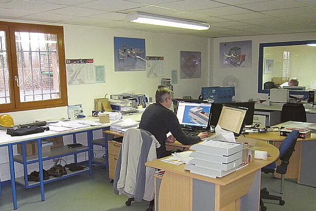 Le bureau d'études avec Inventor et Mastercam de l'entreprise eoda