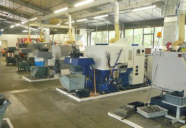 L'entreprise de BPM Décolletage dispose d'un parc de machines multiaxes à embarreur optimisé et rationalisé autour de la marque Citizen.