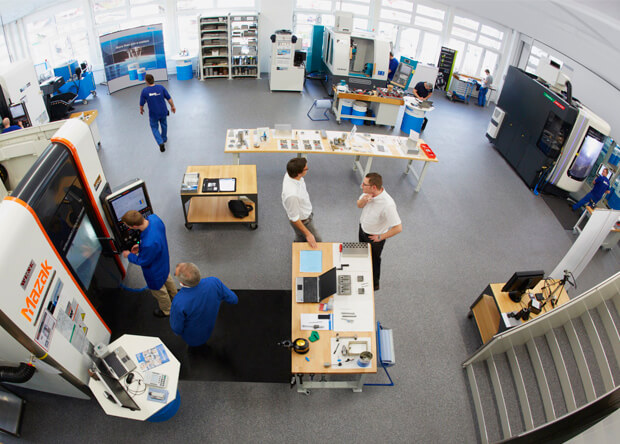 Centre technologique de Blaser Swisslube