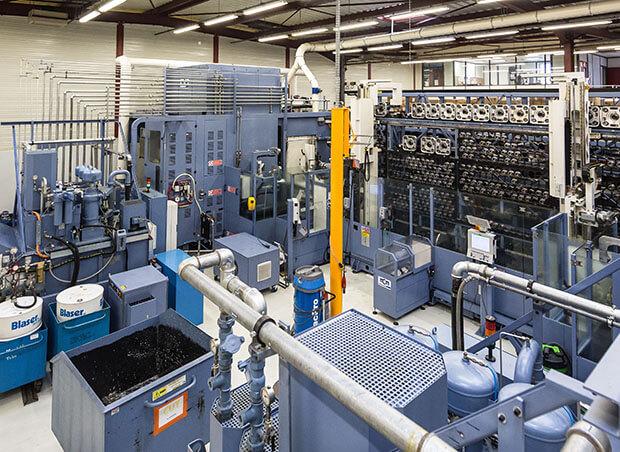 Atelier usinage Safran pour performance opérationnelle