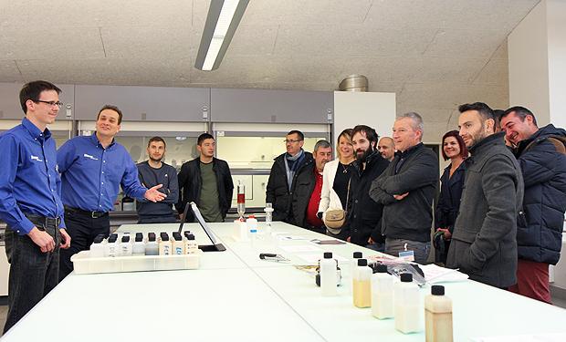 Présentation laboratoire Blaser